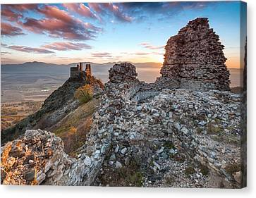 Anevo Fortress Canvas Print by Evgeni Dinev