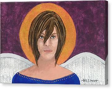 Angel 3 Canvas Print by Billinda Brandli DeVillez