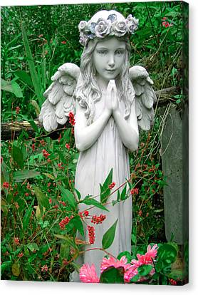 Canvas Print featuring the photograph Angel by Aimee L Maher Photography and Art Visit ALMGallerydotcom