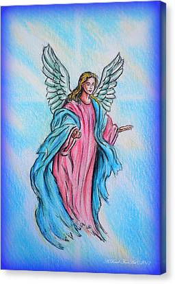 Angel Canvas Print by Andrew Read