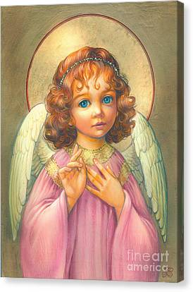 Angel Child Canvas Print by Zorina Baldescu
