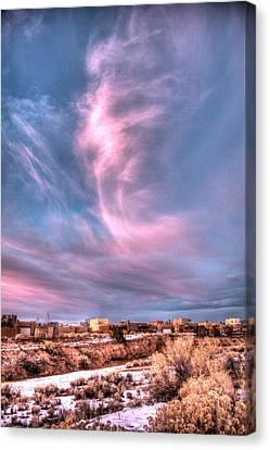 Angel Cloud Canvas Print by Dave Garner