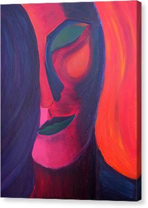 Daina Canvas Print - Angel by Daina White