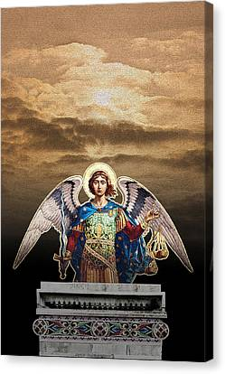 Angel Canvas Print by David Davies