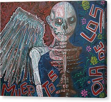 Angel De Los Muertos Canvas Print