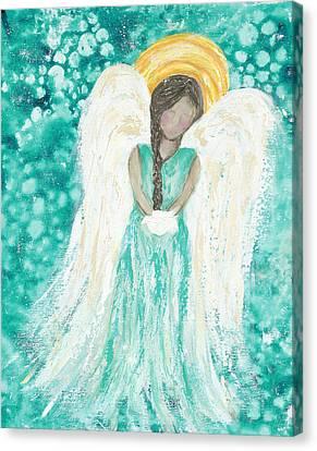 Angel Dreams Canvas Print by Kirsten Reed