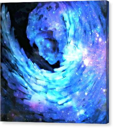 Angel Embrace Canvas Print