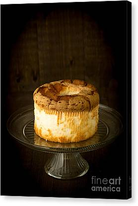 Angel Food Cake Canvas Print by Edward Fielding