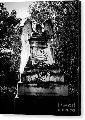 Angel In Grief Canvas Print