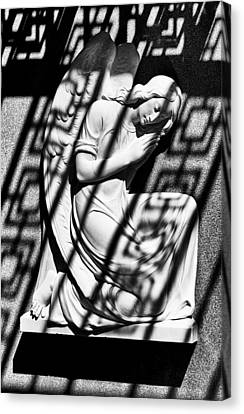 Angel In The Shadows 2 Canvas Print