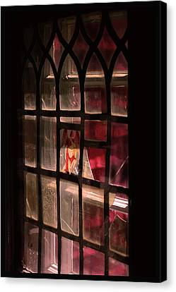 Angel In The Window Canvas Print by Tommytechno Sweden