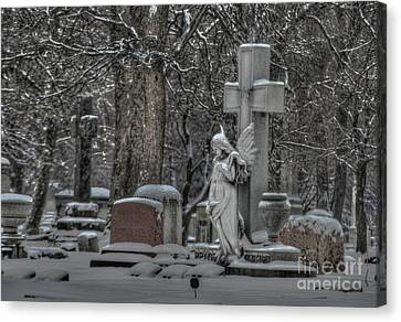 Angel Canvas Print by Jim Wright