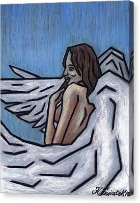 Angel Canvas Print by Kamil Swiatek