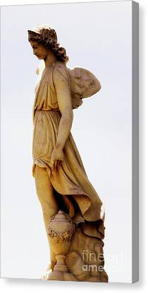 Canvas Print featuring the photograph Angel by Lisa L Silva