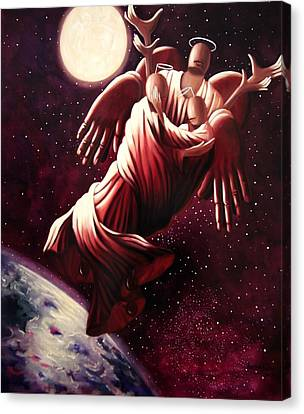Angel Love Canvas Print by Anthony Falbo