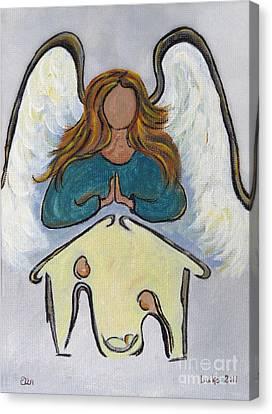 Angel - Messenger Of Joy Canvas Print by Ella Kaye Dickey