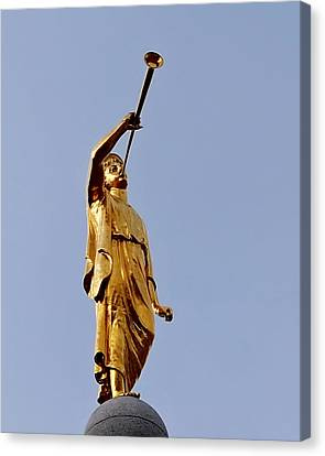 Angel Moroni Canvas Print by Rona Black
