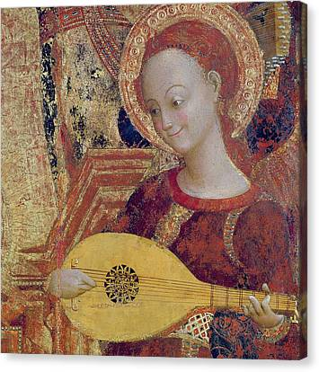 Angel Musician Canvas Print by Sassetta