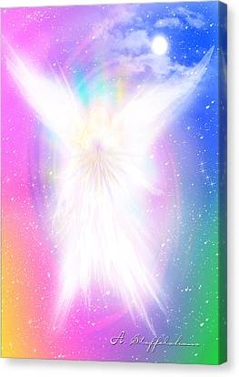 Angel Of Concord Canvas Print by Anderson Stoffelshaus