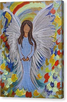 Angel Of Devotion Canvas Print