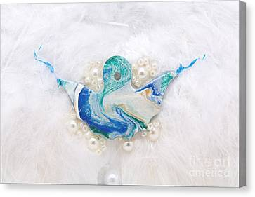 Angel Of Purity Canvas Print