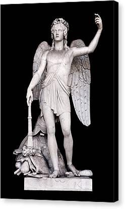 Angel Art Canvas Print - Angel Of The Arts by Fabrizio Troiani