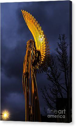 Angel Of The Morning Canvas Print by Steve Purnell
