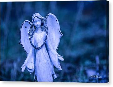 Angel Of The Rain Canvas Print by Charlie Duncan