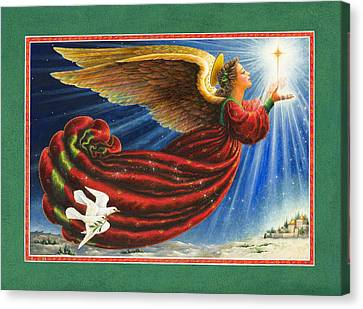 Bethlehem Canvas Print - Angel Of The Star by Lynn Bywaters