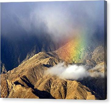 Angel On The Mountain  Canvas Print by Patrick Morgan