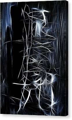 Canvas Print featuring the digital art Angel by Selke Boris