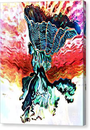 Angel Solar Canvas Print by Genevieve Esson