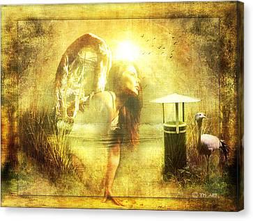 Angel Spirit Canvas Print by Yvon van der Wijk
