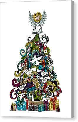Angel Tree Canvas Print by Sharon Turner