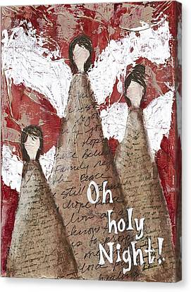 Angel Trio Canvas Print by Kirsten Reed