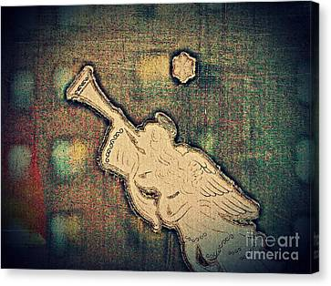 Angel Trumpeter Canvas Print by Sarah Loft