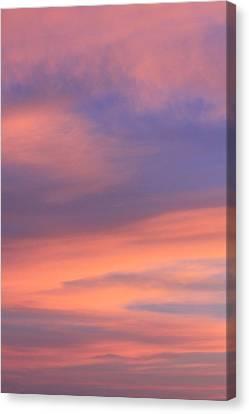 Angeles Crest Sunset Canvas Print by Sarah Vandenbusch