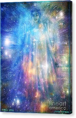 Angelic Being Canvas Print