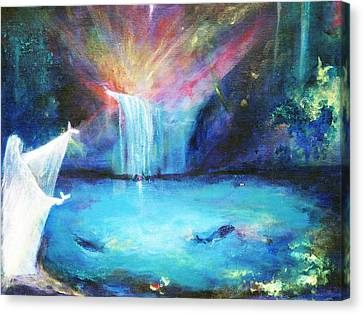 Angelic Oasis Canvas Print