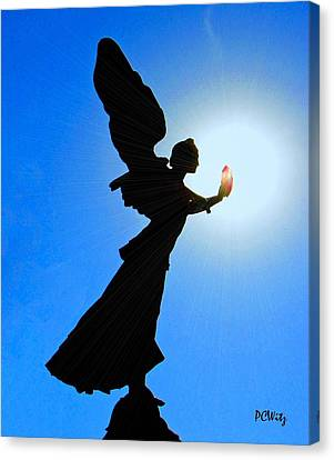Canvas Print featuring the photograph Angelic by Patrick Witz