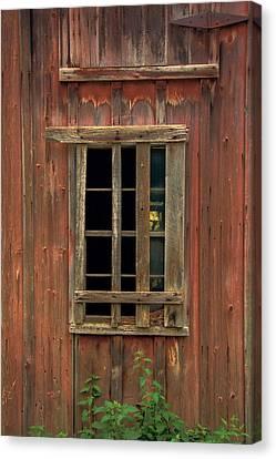 New York New York Com Canvas Print - Angelica Barn Window by Guy Whiteley