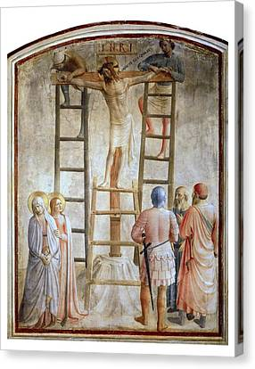 The Sacred Feminine Canvas Print - Angelico, Fra 1387-1455. Descent by Everett