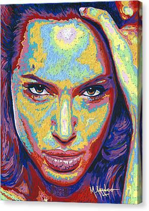Angelina Canvas Print by Maria Arango