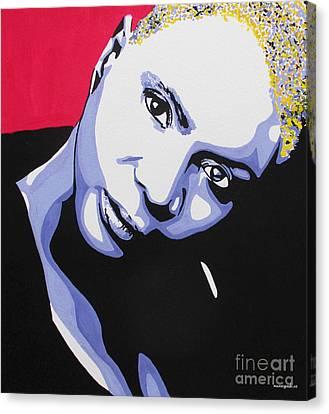 Angelique Kidjo Canvas Print