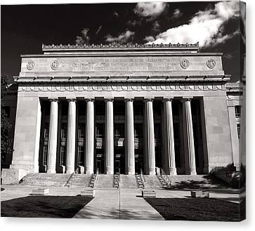 Canvas Print featuring the photograph Angell Hall by James Howe