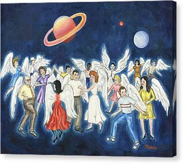 Angels Dancing Canvas Print by Linda Mears