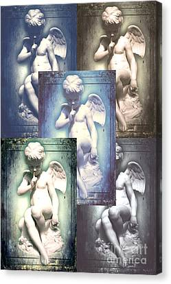 Angels Canvas Print by Lali Kacharava