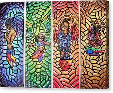 Angels Of San Francisco Canvas Print