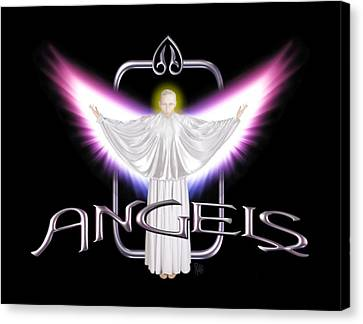 Angels Canvas Print by Scott Ross