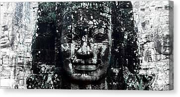 Angkor Thom Canvas Print - Angkor Thom by Julian Cook